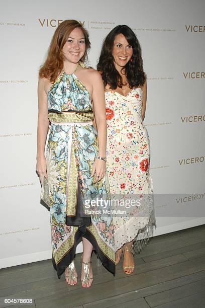 Marcia Martinez and Amy Zakarin attend Viceroy Celebrates 'Ira Abby' at Viceroy on June 23 2006