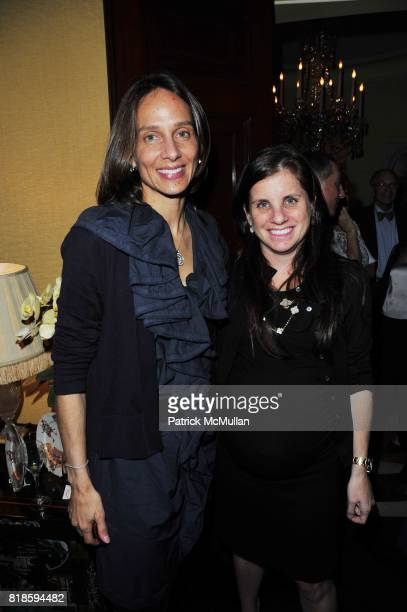 Marcia Mishaan and Deborah Perelman attend Dinner party to celebrate The Child Mind Institute's 2010 Adam Jeffrey Katz Memorial Lecture Series at The...
