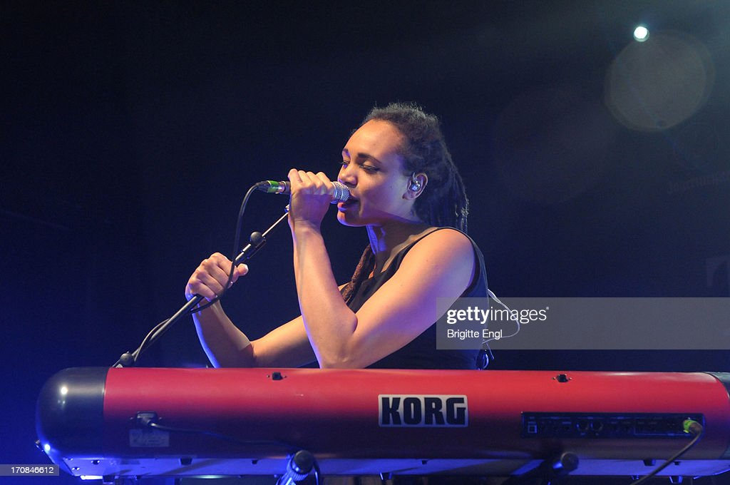 Marcia Richards of The Skints perform on stage at KOKO on May 22, 2013 in London, England.