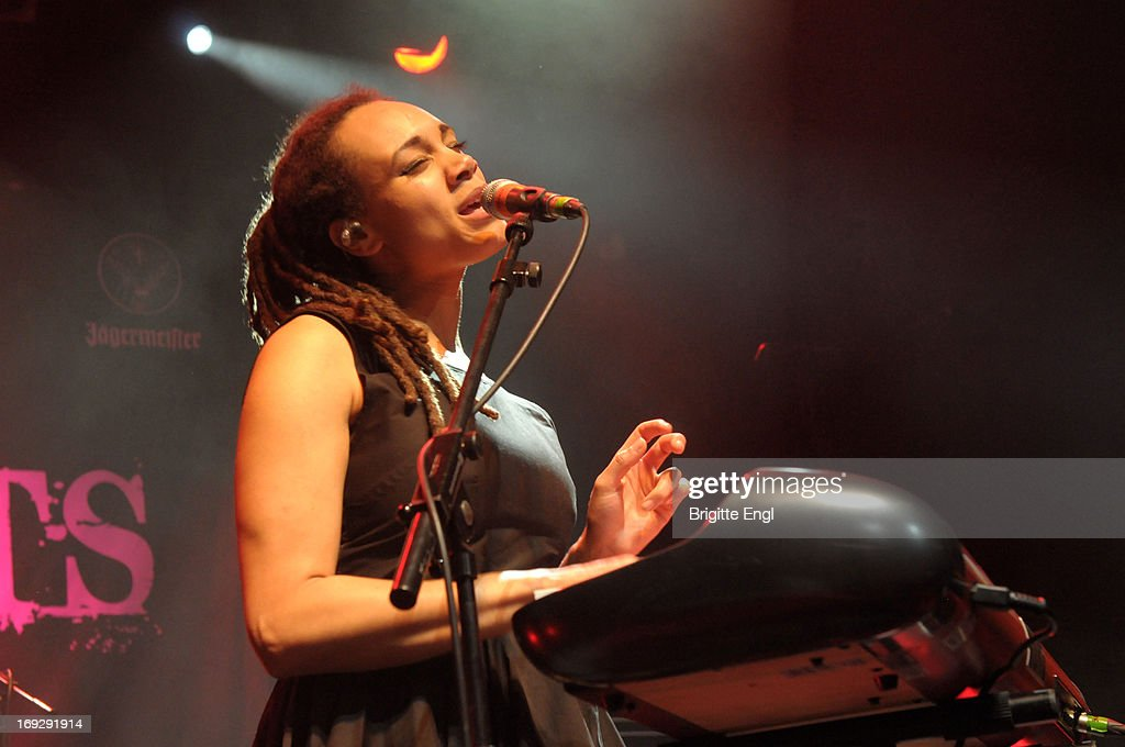 Marcia Richards of The Skints performs on stage at KOKO on May 22, 2013 in London, England.