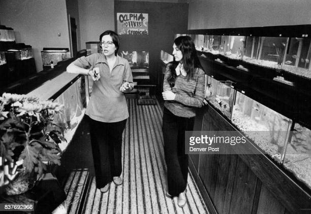 Marcia Warner leftglasses Linda John right The coowners of alpha Tropical Credit Denver Post