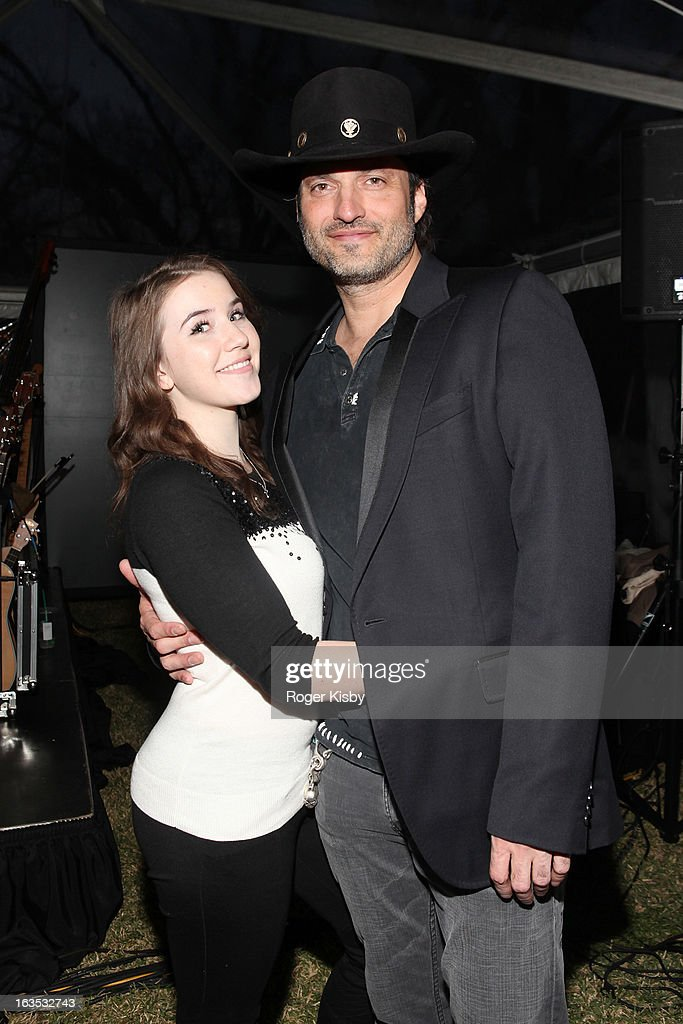 Marcie Madison and Robert Rodriguez attend Forbes' '30 Under 30' SXSW Private Party on March 11, 2013 in Austin, Texas.