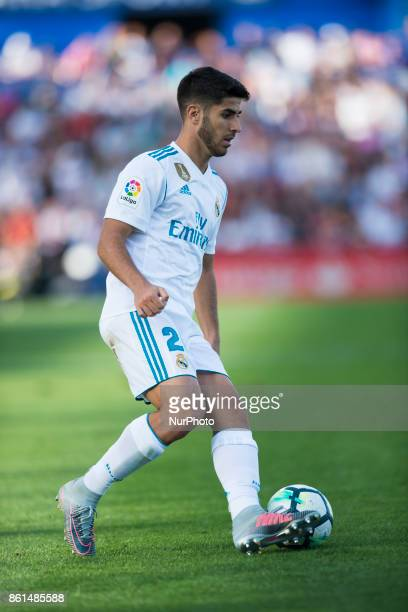 Marco Asensio during the match between Getafe CF vs Real Madrid week 8 of La Liga 2017/18 in Coliseum Alfonso Perez Getafe Madrid 14th of october 2017