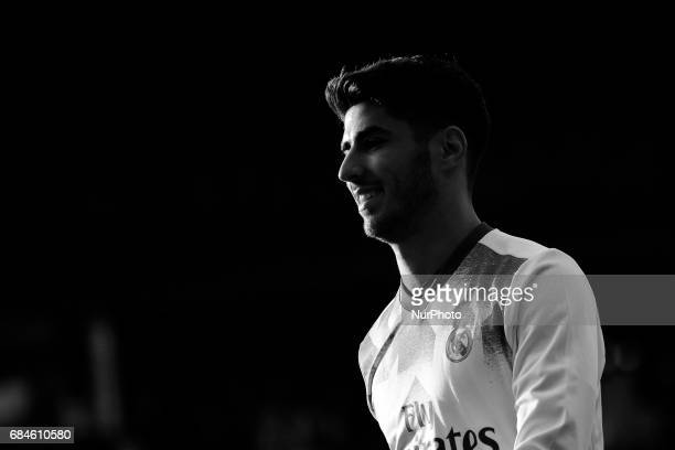 Marco Asensio midfielder of Real Madrid during the La Liga Santander match between Celta de Vigo and Real Madrid at Balaidos Stadium on May 17 2017...
