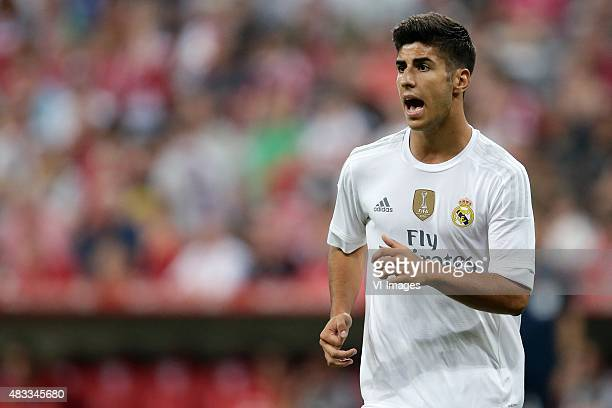Marco Asensio of Real Madrid during the AUDI Cup final match between Real Madrid and FC Bayern Munich on August 5 2015 at the Allianz Arena in Munich...