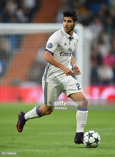 Marco Asensio of Real Madrid during the UEFA Champions League Group F match between Real Madrid CF and Legia Warszawa at Bernabeu on October 18 2016...