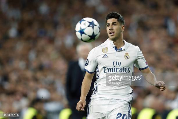 Marco Asensio of Real Madridduring the UEFA Champions League quarter final match between Real Madrid and Bayern Munich on April 18 2017 at the...