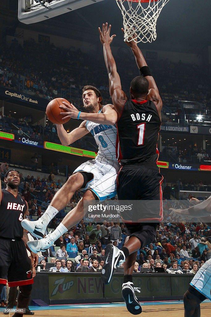 Miami Heat v New Orleans Hornets