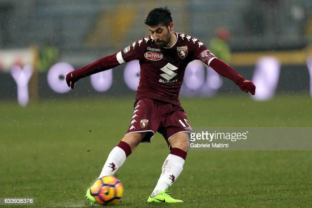 Marco Benassi of FC Torino in action during the Serie A match between Empoli FC and FC Torino at Stadio Carlo Castellani on February 5 2017 in Empoli...