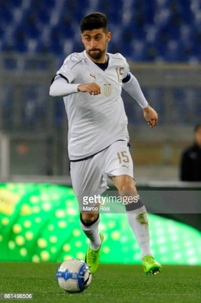 Marco Benassi of Italy U21 during the international friendly match between Italy U21 and Spain U21 at Olimpico Stadium on March 27 2017 in Rome Italy