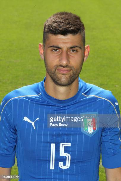 Marco Benassi of Italy U21 poses during the official team photo at Centro Sportivo Fulvio Bernardini on June 14 2017 in Rome Italy