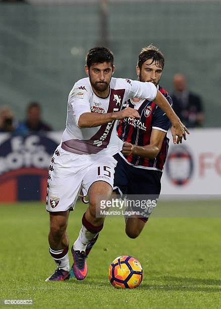 Marco Benassi of Torino during the Serie A match between FC Crotone and FC Torino at Stadio Comunale Ezio Scida on November 20 2016 in Crotone Italy