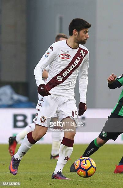 Marco Benassi of Torino during the Serie A match between US Sassuolo and FC Torino at Mapei Stadium Citta' del Tricolore on January 8 2017 in Reggio...