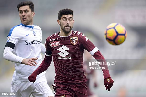 Marco Benassi of Torino FC in action during the Serie A football match between Torino FC and Atalanta BC Final result of the match is 11