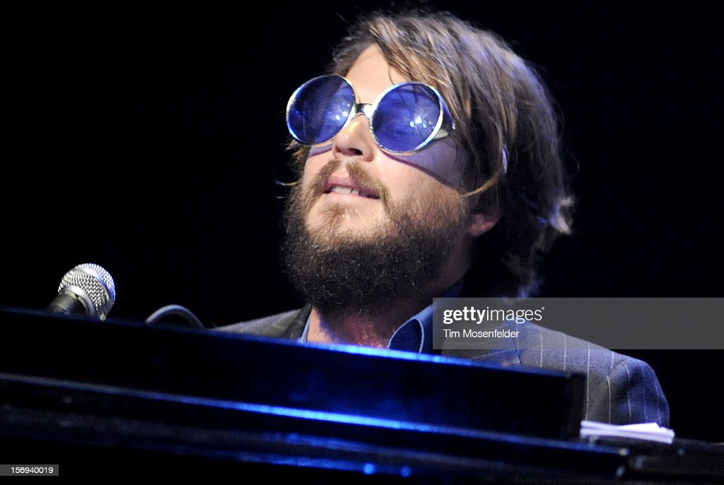 Marco Benevento performs during The Last Waltz Tribute Concert at The Warfield on November 24, 2012 in San Francisco, California.