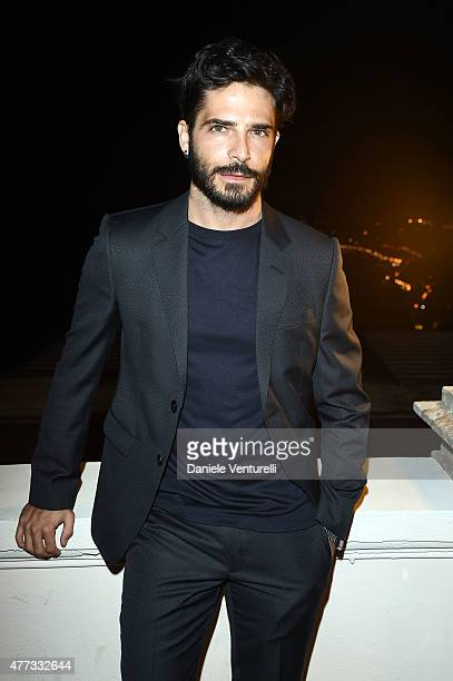 Marco Bocci attends Day 4 of the 61st Taormina Film Fest on June 16 2015 in Taormina Italy