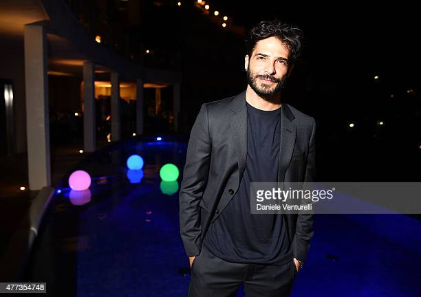 Marco Bocci attends Gala Dinner 61st Taormina Film Fest at Hotel Metropole on June 16 2015 in Taormina Italy