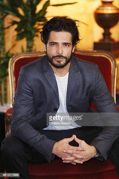 Marco Bocci attends the 'Italo' photocall at Hotel Bernini on January 14 2015 in Rome Italy