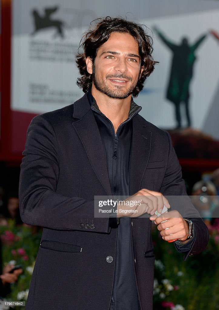 Marco Bocci attends the 'Jealousy' Premiere during the 70th Venice International Film Festival at the Palazzo del Cinema on September 5, 2013 in Venice, Italy.