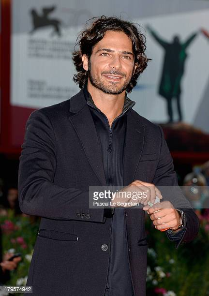Marco Bocci attends the 'Jealousy' Premiere during the 70th Venice International Film Festival at the Palazzo del Cinema on September 5 2013 in...