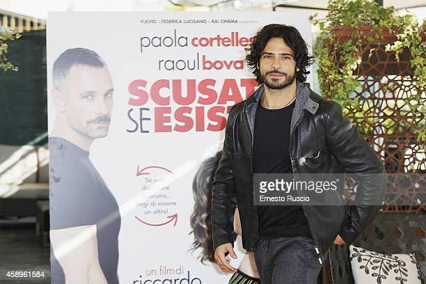 Marco Bocci attends the 'Scusate Se Esisto' photocall at Cinema Barberini on November 14 2014 in Rome Italy
