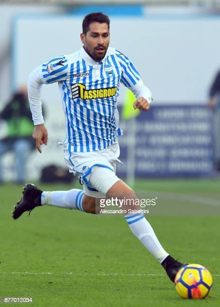 Marco Boriello of Spal in action during the Serie A match between Spal and ACF Fiorentina at Stadio Paolo Mazza on November 19 2017 in Ferrara Italy