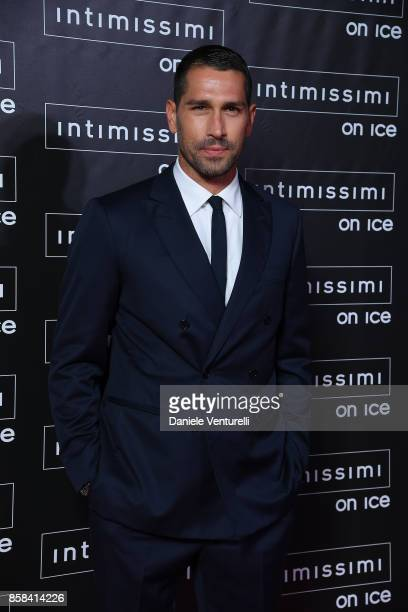 Marco Borriello attends Intimissimi On ice 2017 on October 6 2017 in Verona Italy