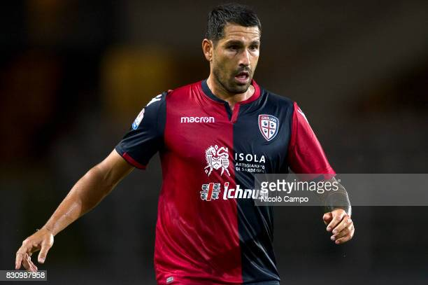 Marco Borriello of Cagliari Calcio looks on during the TIM Cup football match between Cagliari Calcio and US Citta di Palermo Cagliari Calcio wins 53...