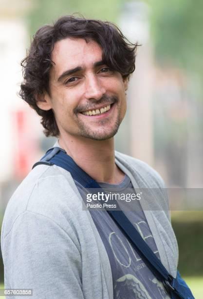 Marco Cocci attends the photocall of 'La mia famiglia a soqquadro'
