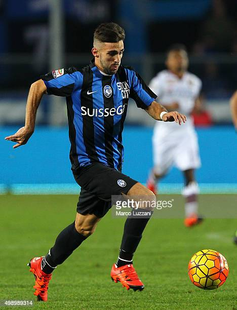 Marco D Alessandro of Atalanta BC in action during the Serie A match between Atalanta BC and Torino FC at Stadio Atleti Azzurri d'Italia on November...