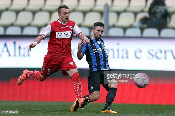 Marco D'Alessandro of Atalanta BC in action during the Serie A match between Carpi FC and Atalanta BC at Alberto Braglia Stadium on February 28 2016...