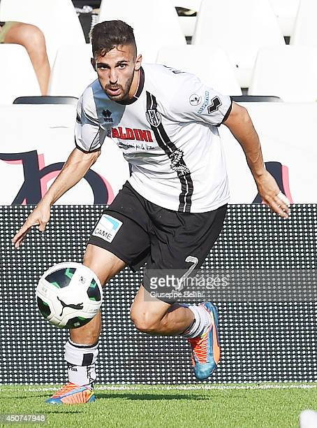 Marco D'Alessandro of Cesena in action during the Serie B playoff match between AC Cesena and Modena FC at Dino Manuzzi Stadium on June 11 2014 in...
