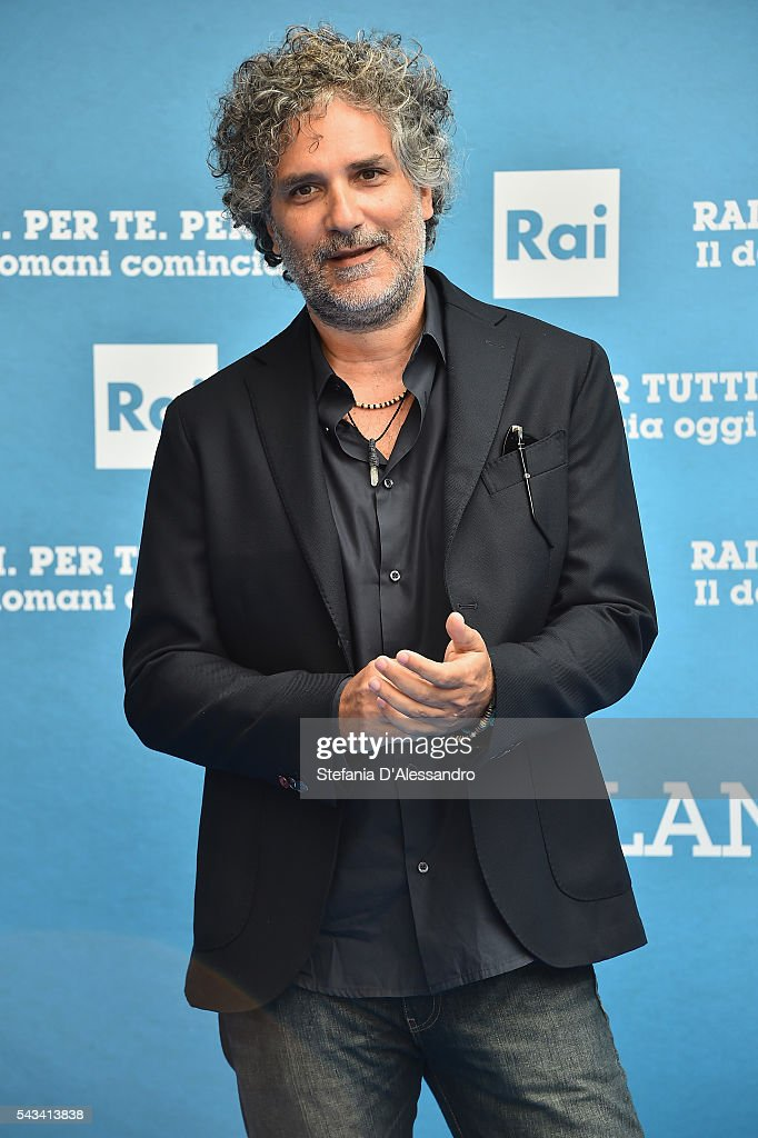 Marco Dambrosio aka Maccox attends Rai Show Schedule Presentation In Milan on June 28, 2016 in Milan, Italy.