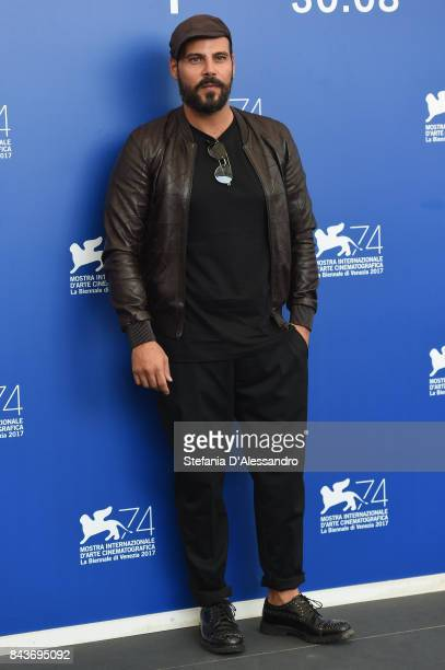 Marco D'Amore attends the 'Brutti E Cattivi' photocall during the 74th Venice Film Festival on September 7 2017 in Venice Italy