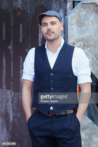 Marco D'Amore attends the 'Gomorra La Serie' photocall at The Space Cinema Moderno on April 29 2014 in Rome Italy