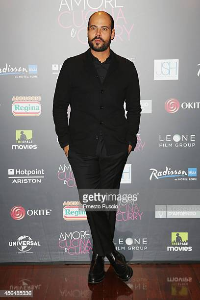 Marco D'Amore attends the 'The HundredFoot Journey' photocall at Hotel Radisson Blu on October 1 2014 in Rome Italy