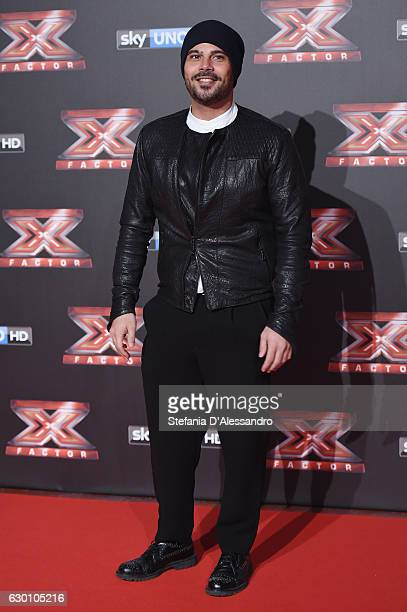 Marco D'Amore attends 'X Factor X' Tv Show Red Carpet on December 15 2016 in Milan Italy