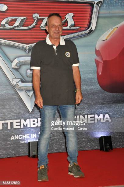 Marco Della Noce attends a photocall for Cars 3 on July 12 2017 in Rome Italy