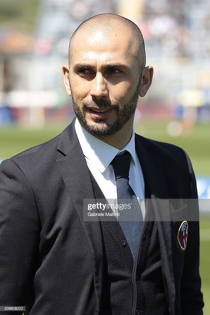 Marco Di Vaio of Bologna Fc during the Serie A match between Empoli FC and Bologna FC at Stadio Carlo Castellani on May 1, 2016 in Empoli, Italy.