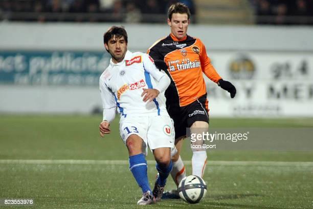 Marco ESTRADA / Kevin GAMEIRO Lorient / Montpellier 19eme journee de Ligue 1