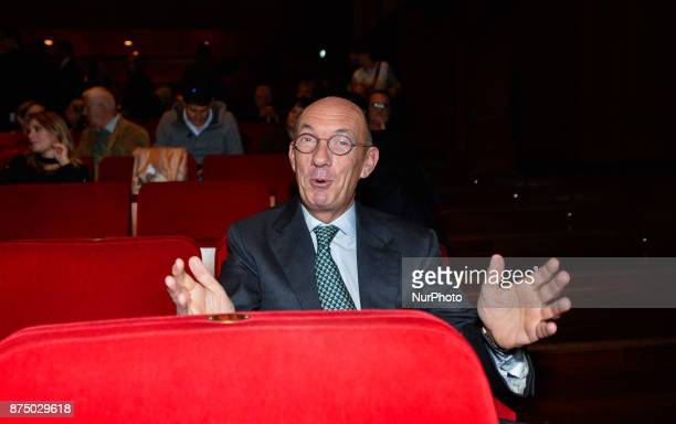 Marco Follini during presentation of the book 'Quando' by Walter Veltroni at Auditorium Rome on november 16 2017