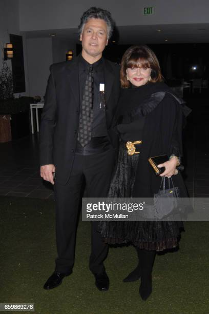 Marco Garibaldi and Angela Rich attend Lorenz Baumer Private Dinner in Celebration of his Paris Fine Jewelry Collection at The London West Hollywood...