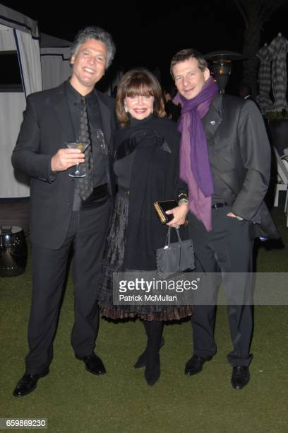 Marco Garibaldi Angela Rich and Lorenz Baumer attend Lorenz Baumer Private Dinner in Celebration of his Paris Fine Jewelry Collection at The London...