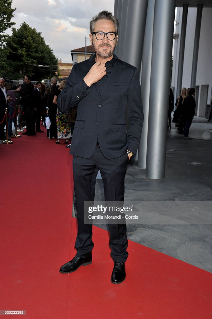 Marco Giallini attend Nastri D'Argento 2016 Award Nominations on May 31, 2016 in Rome, Italy.