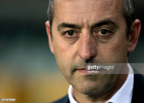 Marco Giampaolo during Serie A match between Torino v Sampdoria in Turin on April 29 2016