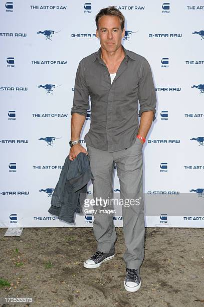 Marco Girnth attends GStar presents Spring/Summer 2014 collection during Bread Butter on July 02 2013 in Berlin Germany