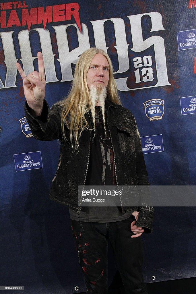 Marco Hietala (NIghtwish) attends the Metal Hammer Awards 2013 at Kesselhaus on September 13, 2013 in Berlin, Germany.