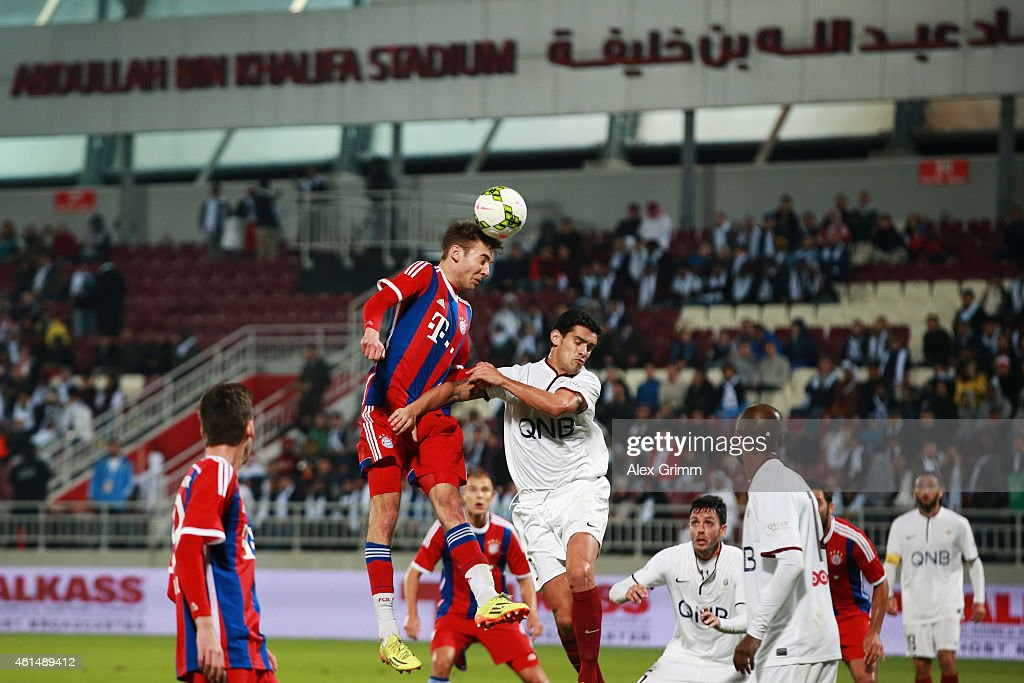 Bayern muenchen v qatar stars friendly match getty images for Ricardo costa