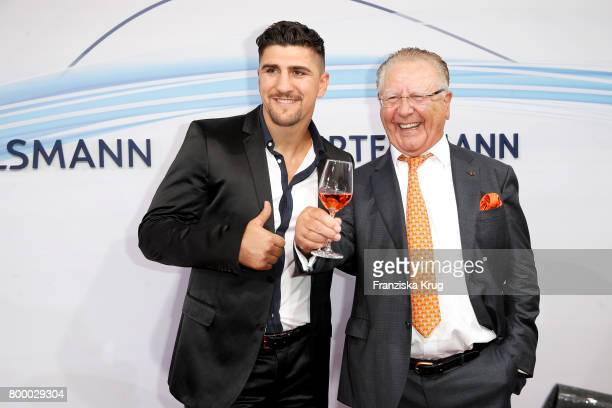 Marco Huck and Heinz Horrmann attend the 'Bertelsmann Summer Party' at Bertelsmann Repraesentanz on June 22 2017 in Berlin Germany