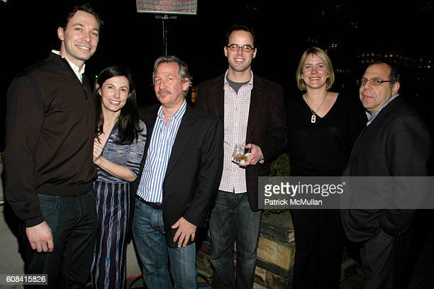 Marco Kim Krikorian Todd Schearer Daniel Helman Brianne Walker and George Romanella attend CFDA Awards Nominee Announcement Cocktail Party Hosted by...